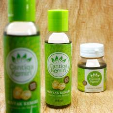 Penyubur Penghitam Rambut Bayi & Dewasa - Minyak Kemiri