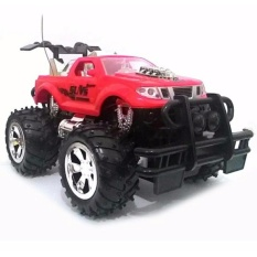 Jual Perdana Toy S Mainan Anak Remote Control Jeep Max Wheel 2 Wd Merah Branded