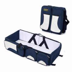perlengkapan baju bayi tas bayi import tas pergi bayi tas untuk balita lazada tas bayi tas tas baby tas perlengkapan bayi yang bagus tas anak balita tas pakaian anak  Multifunctional Baby Blue