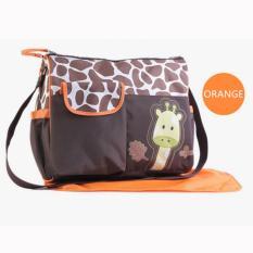 perlengkapan baju bayi tas bayi import tas pergi bayi tas untuk balita lazada tas bayi tas tas baby tas perlengkapan bayi yang bagus tas anak balita tas pakaian anak  Tas Bayi Giraffe Orange