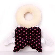Review Bayi Kepala Perlindungan Pad Balita Headrest Bantal Leher Bayi Cute Wings Nursing Drop Perlawanan Cushion Hitam Oem Di Tiongkok