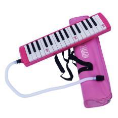 Permainan Alat Musik ditiup Pianika - Pink