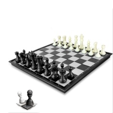 Harga Permainan Catur Magnetic Lipat Chess Folding Magnetic Board Jt826 No Brand Online