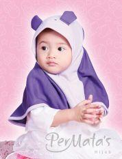 Permata Jilbab Bayi 01 size S Ungu