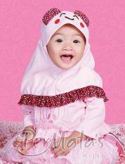 Permata Jilbab Bayi 02 size S Pink