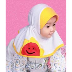 Permata Jilbab Bayi 05 size S Putih