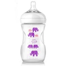 Jual Philips Avent 1 Natural Bottle 260Ml With Slow Flow N*ppl* 1M Elephant G*rl Baru