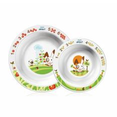 Spesifikasi Philips Avent Bowls Set 2 Mangkok Makan Bayi