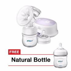 Harga Philips Avent Electric Breastpump Free Natural Bottle Scf332 01Freescf690 13 Satu Set