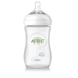 Philips Avent Natural Baby Bottle Scf627 17 9Oz 260Ml Slow Flow N*ppl* 1M Elephant Putih Original