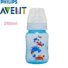 Promo Philips Avent Scf573 14 Classic Bottle 260 Ml Deco Crab Biru Murah