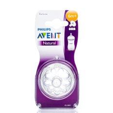 Promo Toko Philips Avent Scf654 27 Fast Flow Dot Bayi Natural 6 Bulan 2 Buah