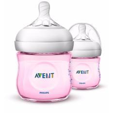 Harga Philips Avent Scf691 23 Bottle 4Oz Pp Natural Pink Twin Merah Muda Asli
