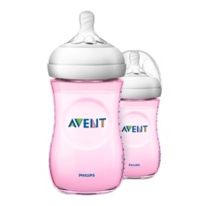 Toko Philips Avent Scf694 23 Natural Pp 9Oz Bottle Pink Twin Di Indonesia