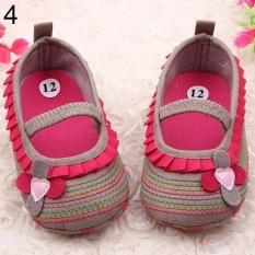 Diskon Phoenix B2C Balita Bayi Bayi Gadis Bunga Sepatu Prewalker Newborn Sampai 18 Bulan Bayi Sepatu 13 Cm Khaki Intl Phoenix B2C