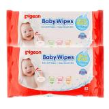 Review Pada Pigeon Baby Wipes Pure Water 82 S P2