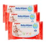 Diskon Pigeon Baby Wipes Pure Water 82 S P3 Branded