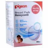 Pigeon Breast Pads Honeycomb 66 Pcs Pigeon Diskon