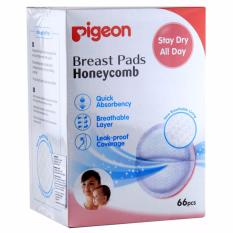 Jual Pigeon Breast Pads Honeycomb 66 Pcs Pigeon Asli