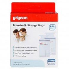 Review Terbaik Pigeon Breastmilk Storage Bag Kantung Asi Bpa Free Putih