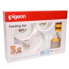 Daftar Harga Pigeon Feeding Set Lengkap Dengan Mug Alat Makan Minum Pigeon Pigeon