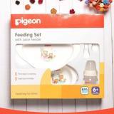 Diskon Pigeon Feeding Set With Juice Feeder Paket Perlengkapan Makan Branded
