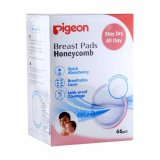 Review Tentang Pigeon Honeycomb Breast Pads Breastpad Isi 66 66Pcs