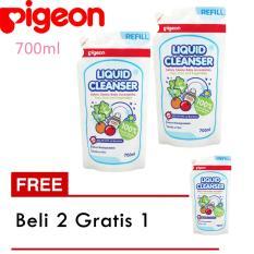 Pigeon Liquid Cleanser Refill 700 Ml (Beli 2 Gratis 1)