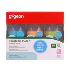 Spesifikasi Pigeon Paket Botol Pp Wide Neck 160Ml Beli 2 Bonus 1 C