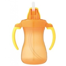 Pigeon Petite Straw Bottle 9m+ 150ml - Orange