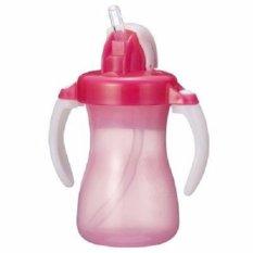 Beli Pigeon Petite Straw Bottle Pink Cangkir Minum Bayi Pake Kartu Kredit