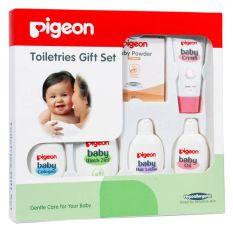 Jual Pigeon Toiletries Gift Set Paket Perlengkapan Mandi Bayi Kado Bayi Lengkap