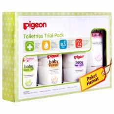 Beli Pigeon Toiletries Gift Set Trial Paket Perlengkapan Mandi Bayi 4In1 Online