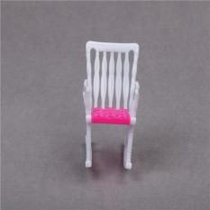 Merah Muda Nursery Bayi Tinggi Kursi 1:6 Barbie Kelly Doll 'S Rumah Rumah Boneka Furniture-Internasional