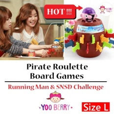 YooBerry Pirate Roullete Size L Board Games Running Man & SNSD