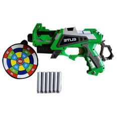 Pistol Mainan Anak - Senapan Tembakan - Soft Bullet Blaster Elite