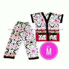 Piyama Batik Baju Tidur Anak Lengan Pendek Setelan Ukuran S, M, L, XL, XXL 3L 4L Harga Murah Berkualitas