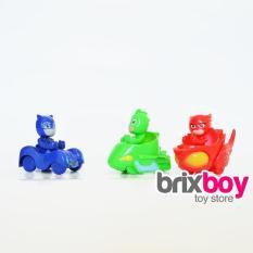 PJ Mask Car Figure 3Pcs - Mainan Mobil Brixboy