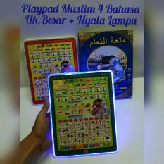 PLAYPAD MUSLIM 4 BAHASA - MAINAN EDUKASI ANAK MUSLIM BERBENTUK TABLET