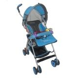 Jual Pliko Adventure 2 Pk 108 Buggy Baby Stroller Kereta Dorong Bayi Biru Muda Ori