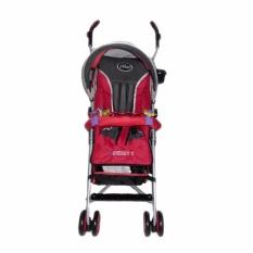 Pliko Adventure 2 Pk 108 Buggy Baby Stroller Kereta Dorong Bayi Merah Pliko Diskon