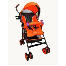 Wulanda kereta dorong bayi Pliko adventure 2 PK 108/ stroller