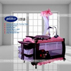 Pliko Baby Box 1178LR Sweet Dream - Box Bayi Pliko - Ranjang Bayi Pliko - Merah Coffee