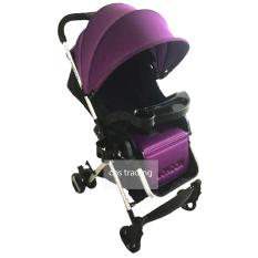 Jual Pliko Baby Stroller 618 London Alumunium Lightweight Kereta Dorong Bayi Ungu Di Indonesia