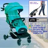 Ongkos Kirim Pliko Baby Stroller New Coast 629Al Lightweight Travelmate Kereta Dorong Bayi Hijau Di Dki Jakarta