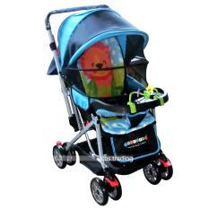 Review Pliko Creative Classic Baby Stroller Bs 218 Lightweight Kereta Dorong Bayi Blue