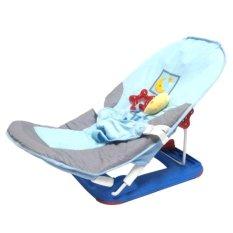 Pliko Fold Up Infant Seat With Music and 2 Speed Soothing Vibration - Kursi Lipat Bayi