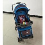 Review Tentang Pliko Grande Pk 268 Baby Stroller Kereta Dorong Bayi 4 In 1 Biru