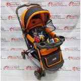 Toko Pliko Grande Pk 268 Baby Stroller Kereta Dorong Bayi 4 In 1 Orange Pliko Di Dki Jakarta