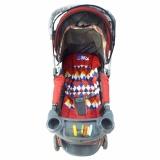 Cuci Gudang Pliko Monaco Pk 288 Baby Stroller Kereta Dorong Bayi 2 In 1 Merah